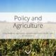 Policy and Agriculture Story Map